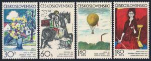 Czechoslovakia 1859-1862,MNH.Michel 2117-2120. Graphic Art,1972.