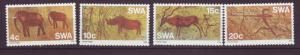 J19075 Jlstamps 1976 south west africa set mnh #384-7 cave paintings