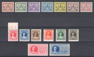 1929 Vatican, Stamps New, Year Complete, 15 Values, MNH