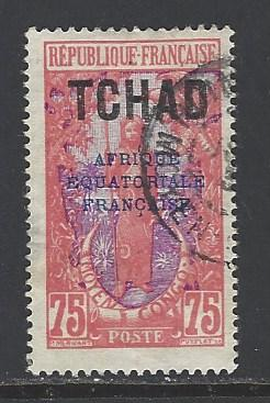 Chad Sc # 39 used (RS)
