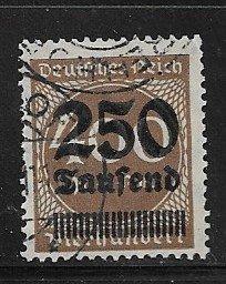 Germany Sc 258 used L10