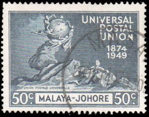 Malaya Johore Scott 154 Used.