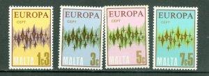 MALTA 1972 EUROPA #450-453...SET...MNH..$1.00