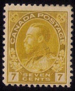 Canada Scott #113 MLH F-VF