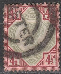 Great Britain #117 F-VF Used CV $45.00  (A2995)