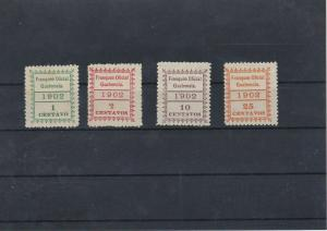 Guatemala Official Stamps Ref: R5321