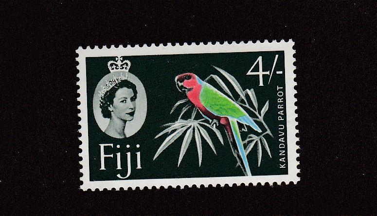 FIJI # 186a VF-MLH 4sh & # 189 VF-MNH ONE POUND CAT VALUE $25+