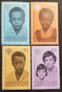 St. Vincent Grenadines MNH 176-9 International Year Of The Child 1979