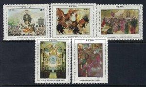 PERU C298-302 MOG X297