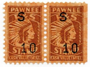(I.B) US Cinderella : Trading Stamp 10c (Pawnee)