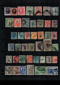 Peru  41  diff  used and mint   lot collection