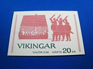 SWEDEN  -  SCOTT #1808a  COMPLETE BOOKLET   MNH   (wr)