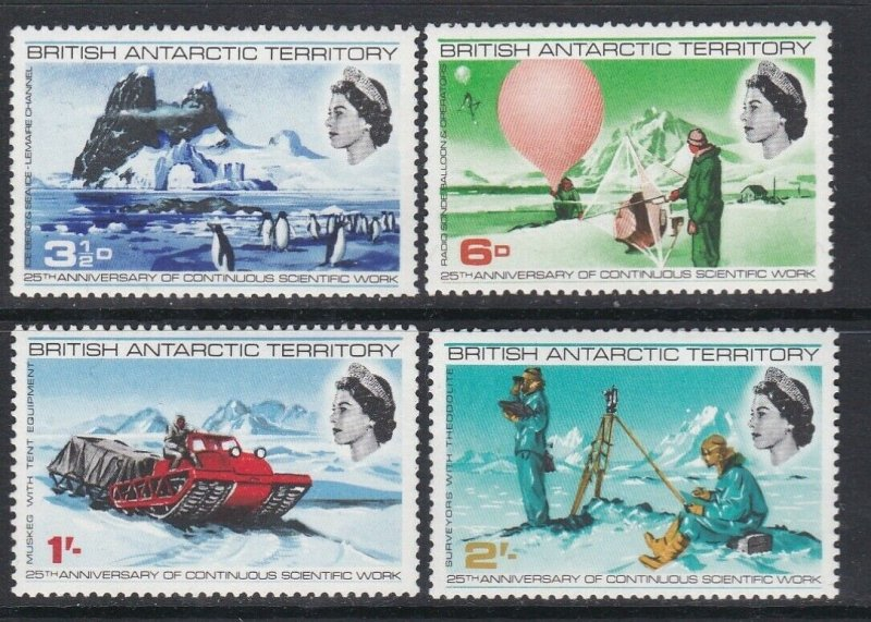 British Antarctic Territory 1969 Continuous Scientific Work MNH CV £4.75