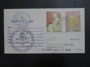 Chile 1986 German Expedition Antarctic Cover / Multi Cachet - Z9597