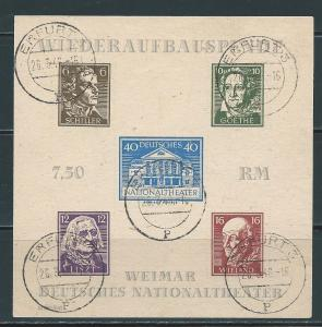 Germany Thuringia 16N9a National Theater s.s. Drab Used