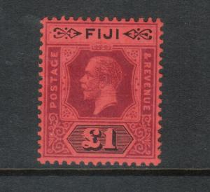 Fiji #91a (SG #137a) Very Fine Mint Very Lightly Hinged Die II