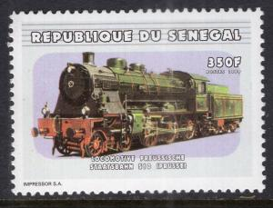 Senegal 1374 Train MNH VF