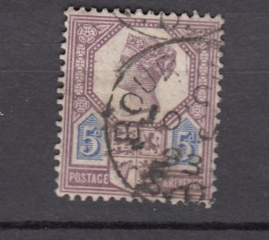 J27526 1887-92 great britain used #118 queen