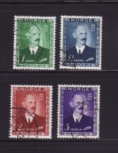 Norway 275-278 Set U King Haakon VII (A)