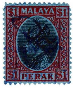(I.B) Malaya States Revenue : Perak Duty $1