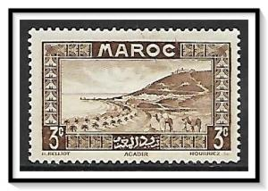 French Morocco #126 Roadstead MH