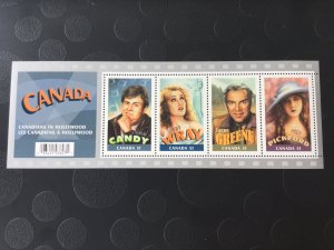 Canada Mint NH #2153 Canadians in Hollywood