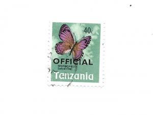 Tanzania 1973 - Scott #O20
