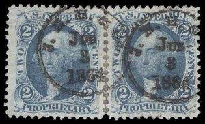U.S. REV. FIRST ISSUE R13c  Used (ID # 94451)