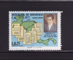 Honduras C624 U José Cecilio del Valle, Policitian (D)