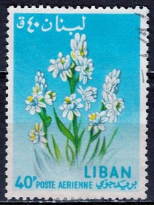 Lebanon; 1964: Sc. # C394: O/Used Single Stamp