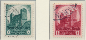 Germany Stamps Scott #442 To 443, Used - Free U.S. Shipping, Free Worldwide S...