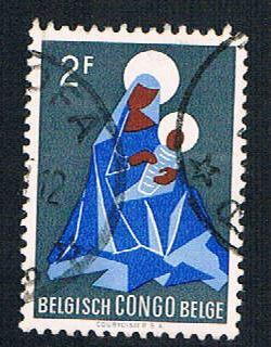 Belgian Congo 320 Used Madonna and Child (BP1931)