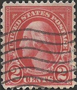 # 634 Used Carmine George Washington