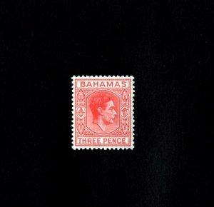 BAHAMAS - 1951 - KG VI - KING GEORGE - PROFILE - # 156 - MINT MNH SINGLE!