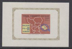 Turkey 1714 Souvenir Sheet MNH VF