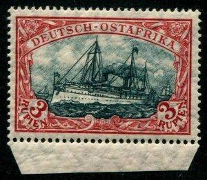 HERRICKSTAMP GERMAN EAST AFRICA Sc.# 41 Marginal Mint NH