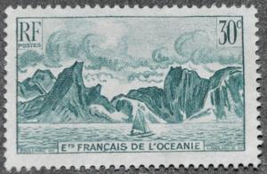 DYNAMITE Stamps: French Polynesia Scott #89 – UNUSED