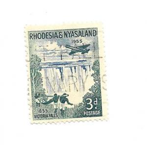 Rhodesia & Nyasaland 1955 - Scott #156