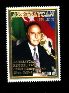 Azerbajin #723 MINT F-VF OG NH Cat $14