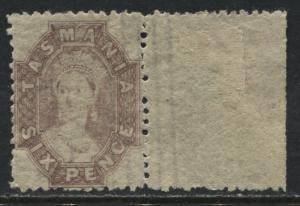 Tasmania QV 1864 6d lilac perf 11 1/2 unmounted mint NH