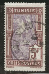 Tunis Tunisia Scott Q23 used 5fr parcel post 1926