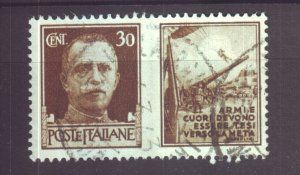 J22604 Jlstamps 1942 italy used #434 military