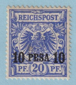 GERMAN EAST AFRICA 4  MINT HINGED OG * TONE SPOTS - VERY FINE!