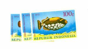 Indonesia Scott 834-836 NH    [ID#428331]