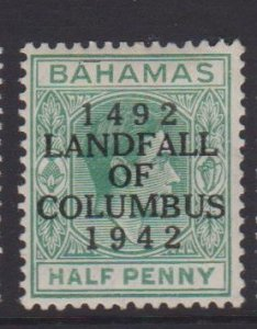 Bahamas Sc#116 MH