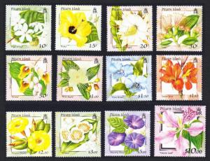 Pitcairn Flowers 12v SG#564-575 SC#512-523 SALE BELOW FACE VALUE