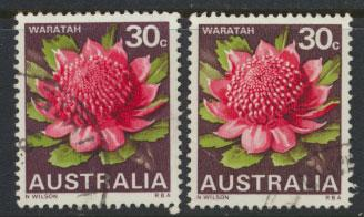 SG 425 and SG 425b Fine Used Type I & Type II  Waratah State Flowers