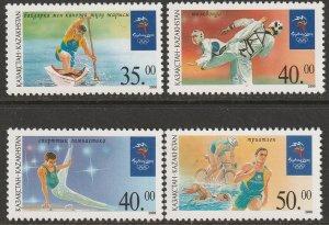 Kazakhstan 306-309 complete set MNH