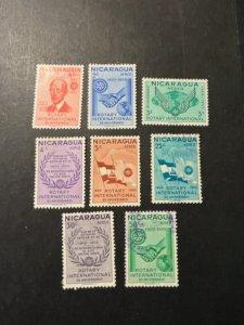 Nicaragua sc C353-C359,C361 MH+u