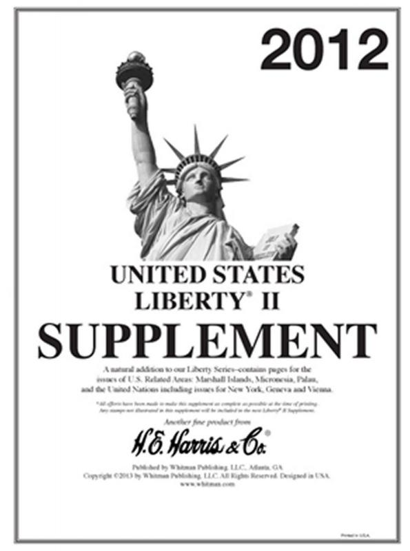 H E Harris Liberty 2 Supplement for U.N., U.S. Territories issued in 2012